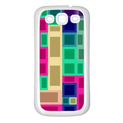 Rectangles and squares        Samsung Galaxy S7710 Xcover 2 Hardshell Case by LalyLauraFLM