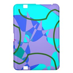 Purple blue shapes        Samsung Galaxy Premier I9260 Hardshell Case by LalyLauraFLM