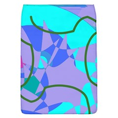 Purple Blue Shapes        Samsung Galaxy Grand Duos I9082 Hardshell Case by LalyLauraFLM