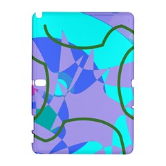 Purple blue shapes        HTC Desire 601 Hardshell Case by LalyLauraFLM