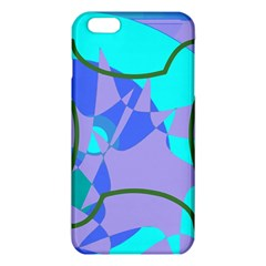 Purple Blue Shapes        Iphone 6/6s Tpu Case by LalyLauraFLM