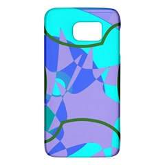 Purple blue shapes        HTC One M9 Hardshell Case by LalyLauraFLM