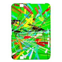 Colorful painting on a green background        Samsung Galaxy Premier I9260 Hardshell Case by LalyLauraFLM