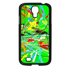 Colorful Painting On A Green Background        Sony Xperia V Hardshell Case by LalyLauraFLM