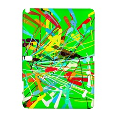 Colorful Painting On A Green Background        Htc Desire 601 Hardshell Case by LalyLauraFLM