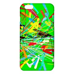 Colorful Painting On A Green Background        Iphone 6/6s Tpu Case by LalyLauraFLM