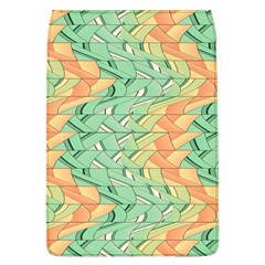 Emerald And Salmon Pattern Flap Covers (l)  by linceazul