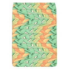Emerald And Salmon Pattern Flap Covers (s)  by linceazul
