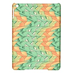 Emerald And Salmon Pattern Ipad Air Hardshell Cases by linceazul