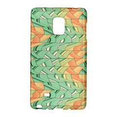 Emerald And Salmon Pattern Galaxy Note Edge by linceazul