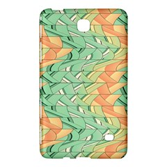 Emerald And Salmon Pattern Samsung Galaxy Tab 4 (7 ) Hardshell Case  by linceazul