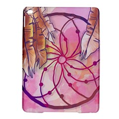 Watercolor Cute Dreamcatcher With Feathers Background Ipad Air 2 Hardshell Cases by TastefulDesigns