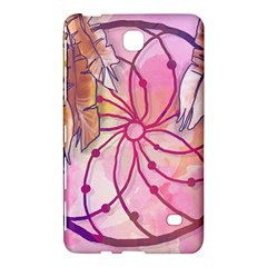 Watercolor Cute Dreamcatcher With Feathers Background Samsung Galaxy Tab 4 (7 ) Hardshell Case  by TastefulDesigns