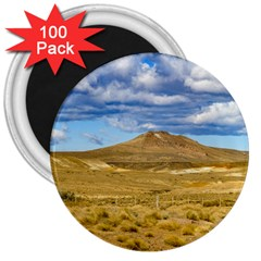 Patagonian Landscape Scene, Argentina 3  Magnets (100 Pack) by dflcprints