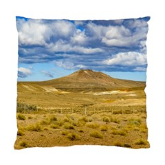 Patagonian Landscape Scene, Argentina Standard Cushion Case (one Side) by dflcprints