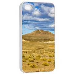 Patagonian Landscape Scene, Argentina Apple Iphone 4/4s Seamless Case (white) by dflcprints