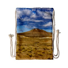 Patagonian Landscape Scene, Argentina Drawstring Bag (small) by dflcprints