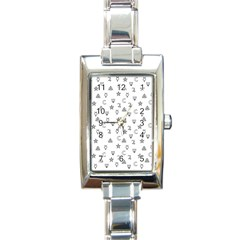Witchcraft Symbols  Rectangle Italian Charm Watch by Valentinaart