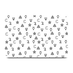 Witchcraft Symbols  Plate Mats by Valentinaart