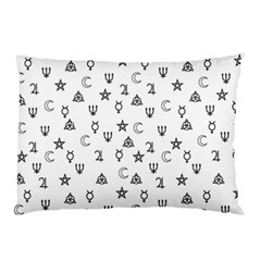 Witchcraft Symbols  Pillow Case by Valentinaart