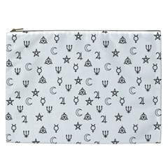 Witchcraft Symbols  Cosmetic Bag (xxl)  by Valentinaart