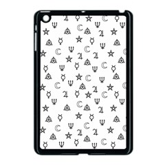 Witchcraft Symbols  Apple Ipad Mini Case (black) by Valentinaart