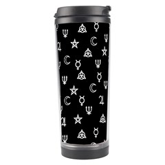 Witchcraft Symbols  Travel Tumbler by Valentinaart