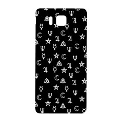 Witchcraft Symbols  Samsung Galaxy Alpha Hardshell Back Case by Valentinaart