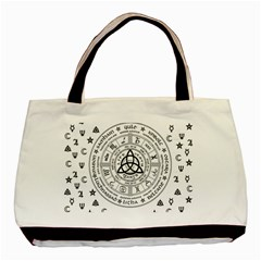 Witchcraft Symbols  Basic Tote Bag by Valentinaart