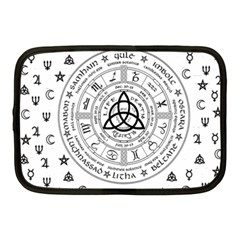 Witchcraft Symbols  Netbook Case (medium)  by Valentinaart