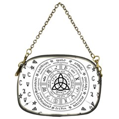 Witchcraft Symbols  Chain Purses (one Side)  by Valentinaart