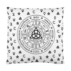 Witchcraft Symbols  Standard Cushion Case (two Sides) by Valentinaart