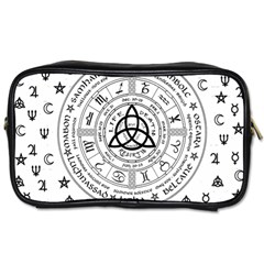 Witchcraft Symbols  Toiletries Bags by Valentinaart
