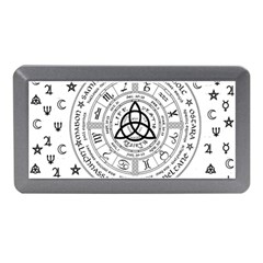 Witchcraft Symbols  Memory Card Reader (mini) by Valentinaart