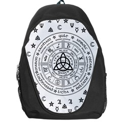 Witchcraft Symbols  Backpack Bag by Valentinaart