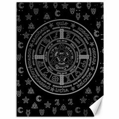 Witchcraft Symbols  Canvas 36  X 48   by Valentinaart