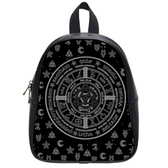 Witchcraft Symbols  School Bags (small)  by Valentinaart
