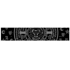 Witchcraft Symbols  Flano Scarf (large) by Valentinaart