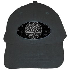 Witchcraft Symbols  Black Cap by Valentinaart