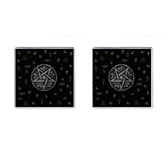 Witchcraft Symbols  Cufflinks (square) by Valentinaart