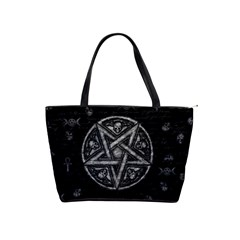 Witchcraft Symbols  Shoulder Handbags by Valentinaart