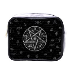 Witchcraft Symbols  Mini Toiletries Bags by Valentinaart