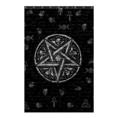Witchcraft Symbols  Shower Curtain 48  X 72  (small)  by Valentinaart