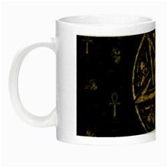 Witchcraft Symbols  Night Luminous Mugs by Valentinaart