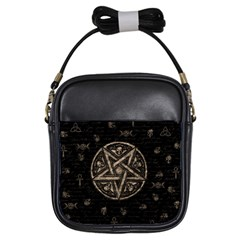 Witchcraft Symbols  Girls Sling Bags by Valentinaart