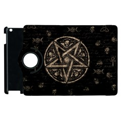 Witchcraft Symbols  Apple Ipad 3/4 Flip 360 Case by Valentinaart