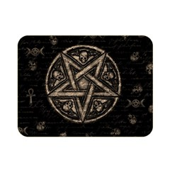 Witchcraft Symbols  Double Sided Flano Blanket (mini)  by Valentinaart