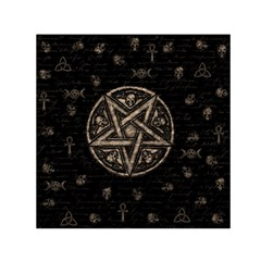 Witchcraft Symbols  Small Satin Scarf (square) by Valentinaart