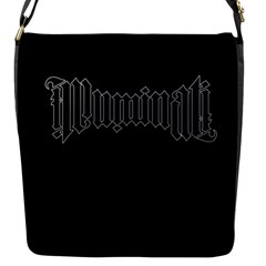 Illuminati Flap Messenger Bag (s) by Valentinaart