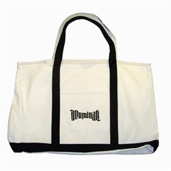 Illuminati Two Tone Tote Bag by Valentinaart